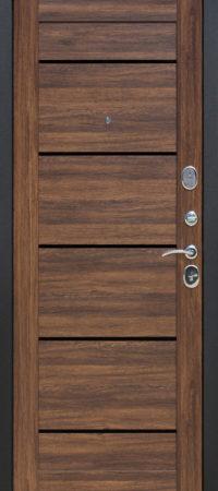 Входная дверь 7,5 см НЬЮ-ЙОРК Царга Дуб санремо темный