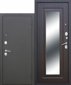 Входная дверь Царское зеркало Муар Венге