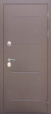 Входная дверь c ТЕРМОРАЗРЫВОМ 11 см ISOTERMA Медный антик Металл_Металл