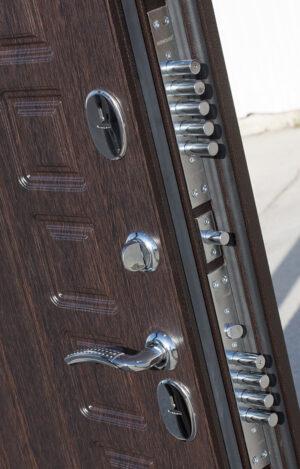 Входная дверь c ТЕРМОРАЗРЫВОМ 11 см Isoterma медный антик Венге2