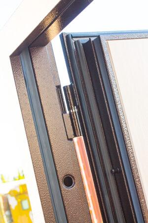 Входная дверь c ТЕРМОРАЗРЫВОМ 11 см Isoterma медный антик Венге3