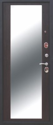 Входная металлическая дверь 10 см МОНАРХ Зеркало Венге