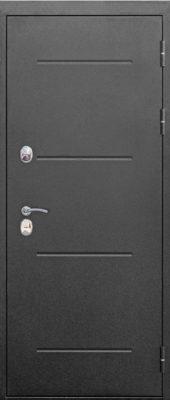 Входная морозостойкая дверь c ТЕРМОРАЗРЫВОМ 11 см Isoterma СЕРЕБРО Темный кипарис