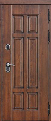 Входная морозостойкая дверь c ТЕРМОРАЗРЫВОМ 13 см Isoterma Сосна белая