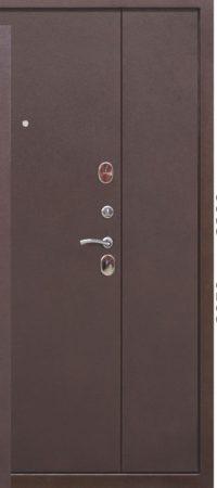 Двустворчатая входная дверь GARDA Металл_Металл 1200мм_1300мм