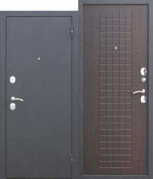 Входная дверь Гарда МУАР 8 мм Венге